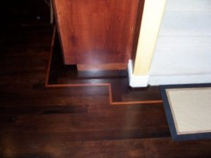 Wood Floor Intricate Corner