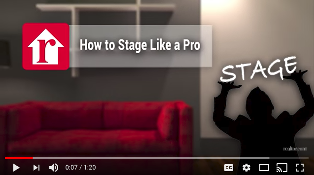 how to stage like a pro
